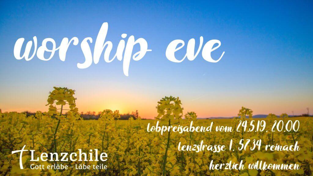 20190524 worship eve