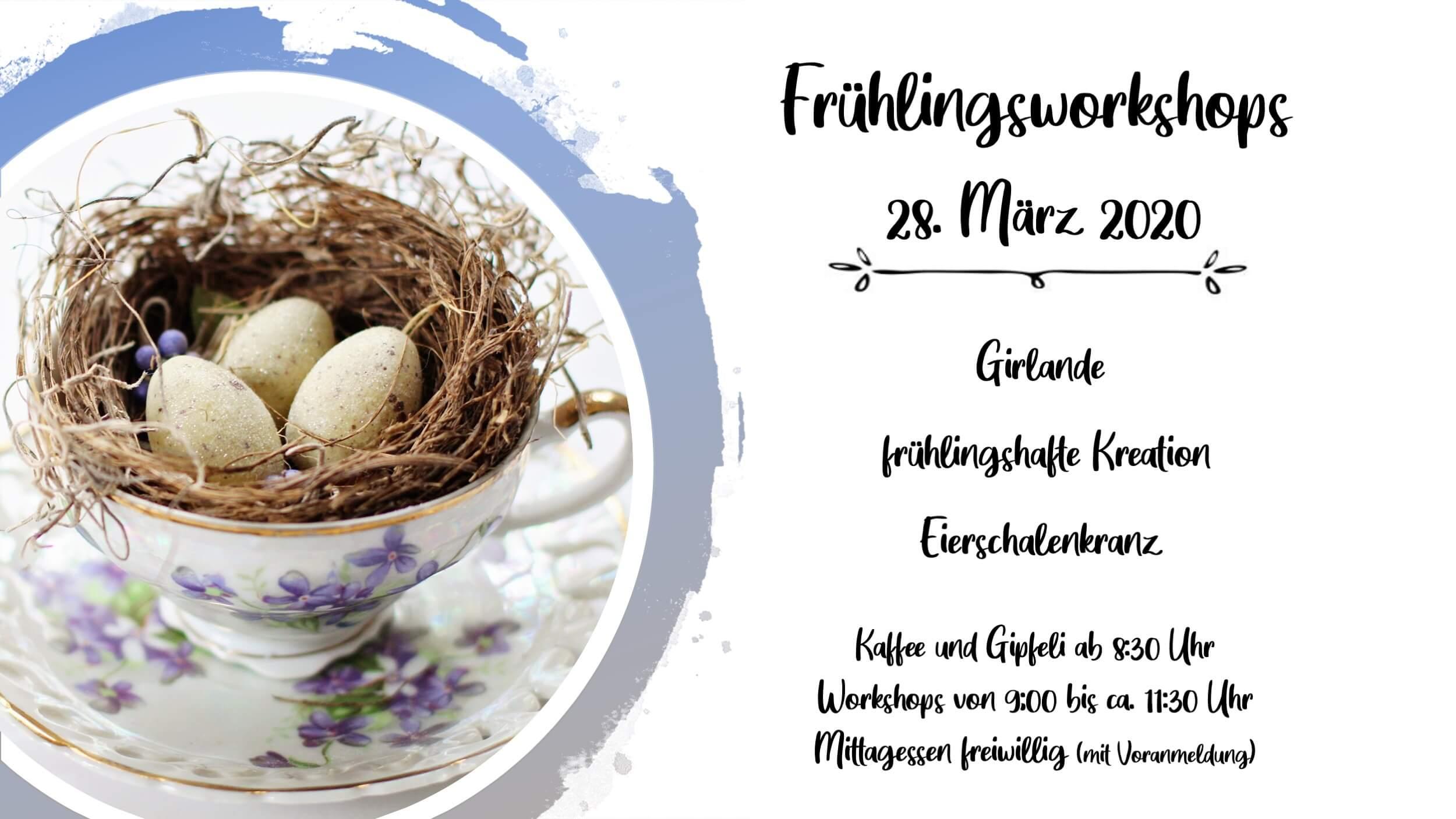 Flyer Frühlingsworkshop